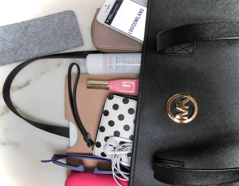 what's in my bag louisemilano
